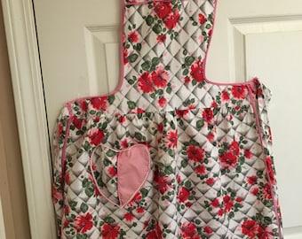 Vintage apron/ladies apron