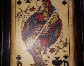 Vintage Playing Card Box