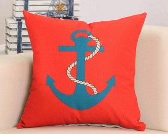 Anchor - Pillow Cover