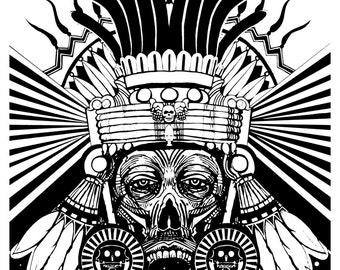 Mictecacihuatl (Aztec Goddess of Death)