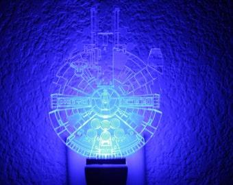 Star Wars Inspired Millennium Falcon Nightlight