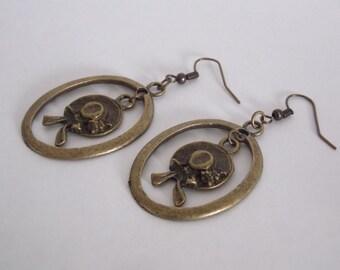 Table vintage earrings