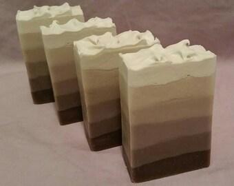 Lavender Ombré Soap