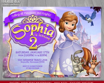 Sophia The First Invitations are Awesome Layout To Make Awesome Invitations Layout