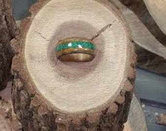 Ironwood with Malicite inlay