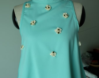 Candy Colour tops_ Turquoise