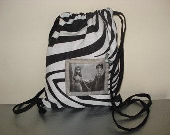DrawString bag bride corpse / Zebra