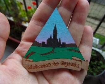 Legend of Zelda Hyrule fields brooch
