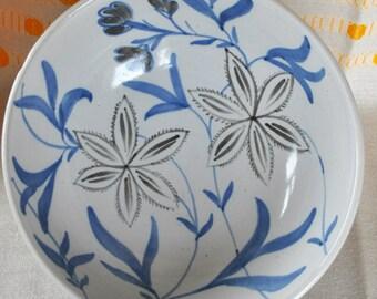 Buchan stoneware bowl  Portobello Scotland Bowl Hand painted 146 M1/28floral FREE SHIPPING