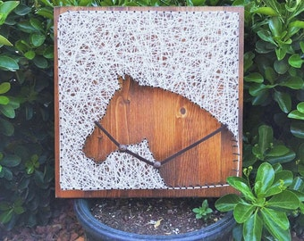 MADE TO ORDER Horse String Art