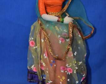 Indian Dancing Girl Doll  // On Stand