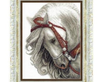 Cross Stitch Kit Ash (horse)