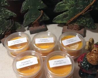 10 Pumpkin Cornbread - Highly Scented Wax Melts - Tarts