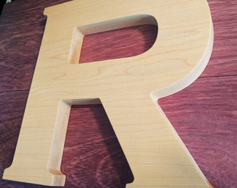 Wooden Letter for Weddings - Wooden Alphabet Letters for Wedding or Anniversary