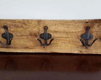 Rustic Barn Wood Coat or Towel Holder