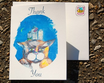 Thank you notes (Set of 8)