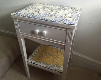 Tiled Mosaic End Table