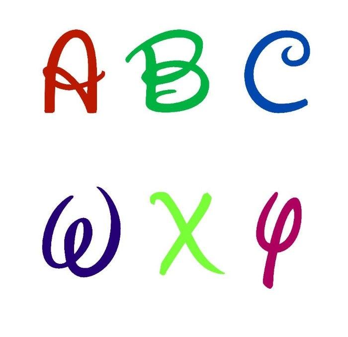 Download disney Font svg files Alphabet Cut Files Cut by ...