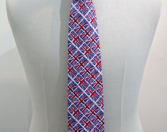 Union Jack fabric Tie