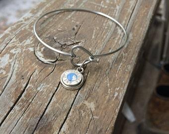 Heart bullet bracelet