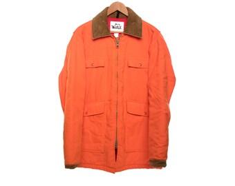 SALE Vintage Woolrich Hunter Orange Coat