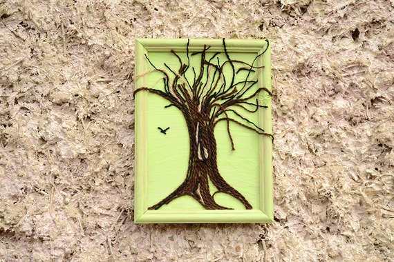 tree of wall string wall string rustic