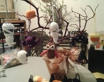 Crocheted Halloween Ornaments