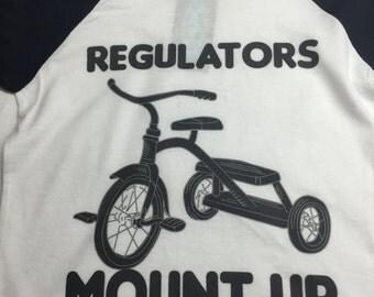 Regulators Mount Up Raglan