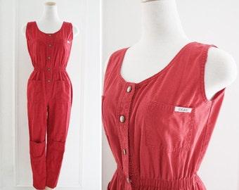 Vintage Red Jumper