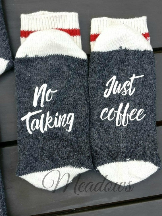 socks with sayings socks with sayings coffee socks if you can read this no