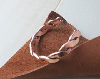 Copper Twist Bracelet