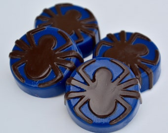 Chocolate, Spiderman Chocolate, Spiderman Party, Halloween Party,  Superhero Party, Superhero Birthday Favors, Super Hero Party,