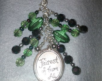 Fairest Of them All Purse Charm