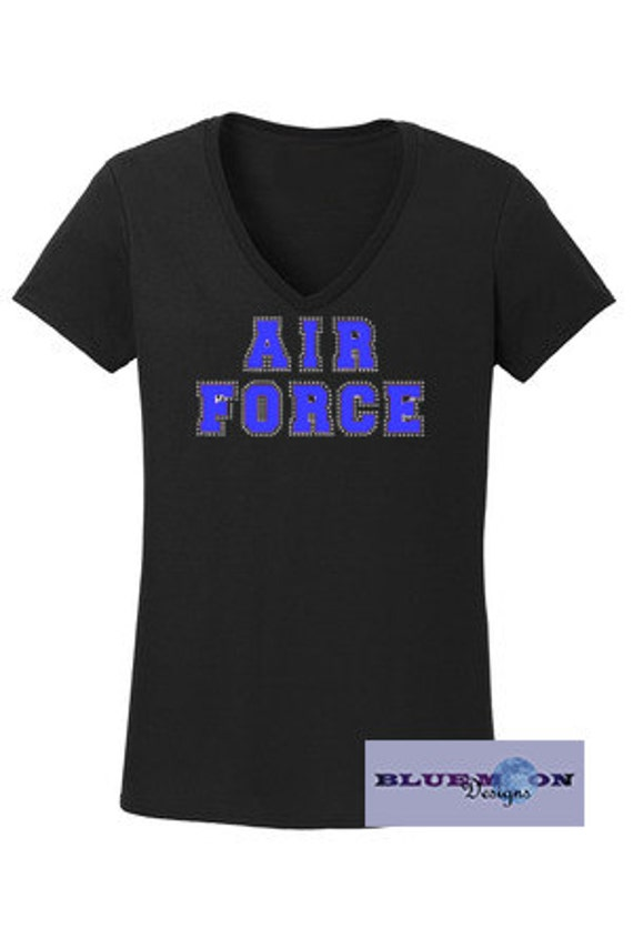 Army Strong Vinyl Rhinestone T-Shirt Made to order