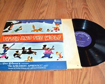 Peter and the Wolf and Sorcerers Apprentice LP