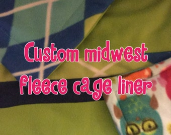 Midwest fleece cage liner