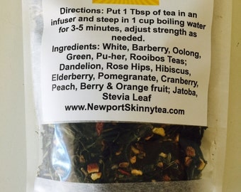 Venice Beach Fat Burning FItness Tea