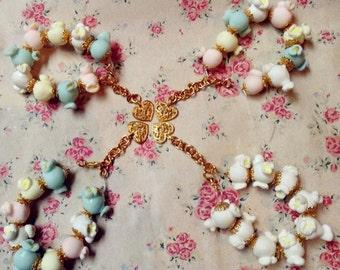 Victorian bracelet popcorn