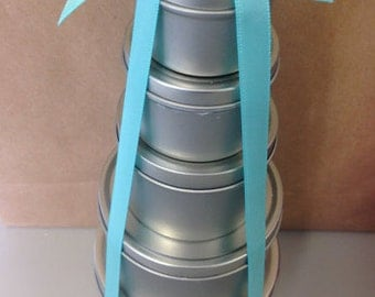 Candle Sample Tin Stack
