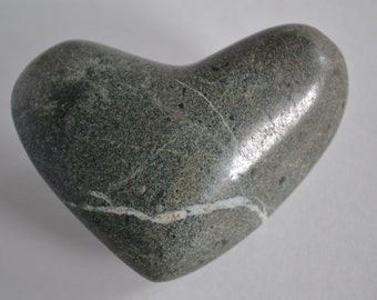 Heart shaped Beach Stone #2102