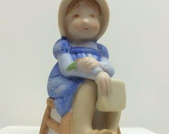 """Holly Hobbie """"Memories"""" Figurine"""
