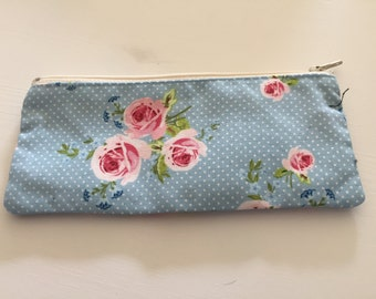 Pencil case Shabby Chic Blue