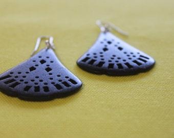 Earrings - Fan earrings