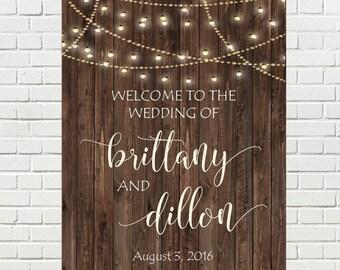 PRINTABLE Wedding Welcome Sign, Printable Wedding Sign, Welcome to our Wedding Sign, Wedding Sign, Wedding Signs, Wedding Signage