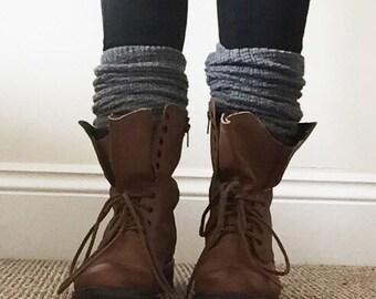 BOBBI LEG WARMERS - leg warmers - knee high socks - gift for woman - boho boot - knee high boot - knit leg warmer - wool leg warmer - gift