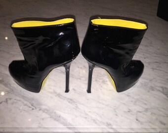 YSL Tribute Patent Boot size 40.5