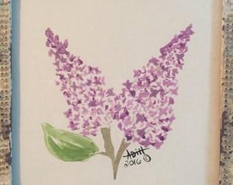 Original lilac mini with frame