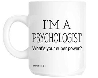 Psychologist Novelty Gift Mug SHAN313