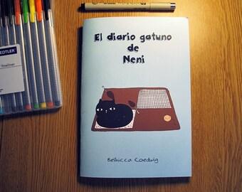 "Book/comic ""The cat Neni journal"""
