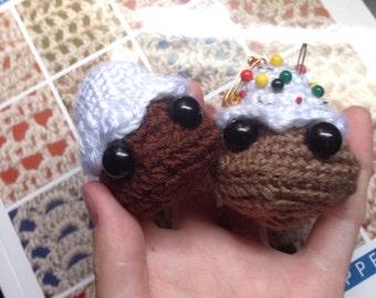 Baby Mountain Crochet Pincushion/Plushie